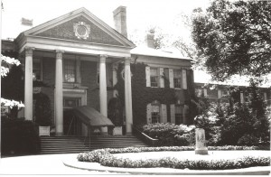 North facade of Parmelee mansion (courtesy of American Institute of Architects)