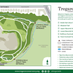 Map of Tregaron Conservancy