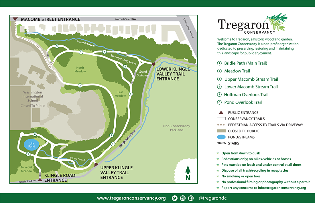 Map of Tregaron
